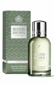 BRAND NEW AND EXCLUSIVE Molton Brown Geranium Nefertum Eau De Toilette 50ml