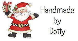 260 Personalised Mini Address labels Handmade etc  🎅 Father Christmas & Gift 🎅