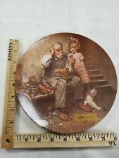 """Norman Rockwell 1978 Collectors Plate """"The Cobbler"""" Knowles"""