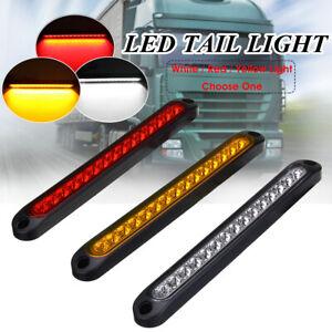 15LED Trailer Truck Caravan UTE Stop Brake Tail Reverse Light Ultra-Slim Red