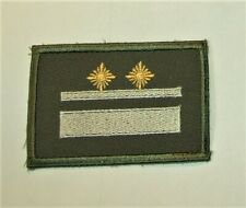 NVA Ärmelabzeichen Stabsgefreiter zum neuen Strichtarnanzug Felddienst ab 1990