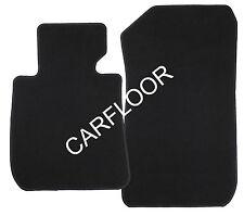 Fußmatten passend für Porsche Cayman Bj. 05-08 in Velours Deluxe schwarz