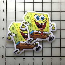 "Spongebob Squarepants 4"" Wide Color Vinyl Decal Sticker BOGO"