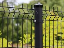 Stabgitterzaun Mat Fence Fence Fence 500m 123cm 3D 3mm Black Best Price