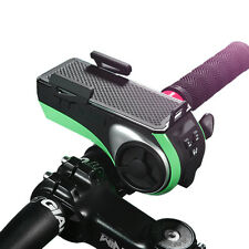 Multi-function Bicycle Bluetooth Speaker with Power Bank+Bike Light+Phone Holder