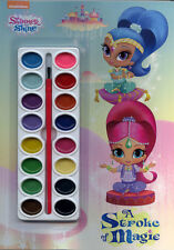 Shimmer and Shine coloring book RARE UNUSED