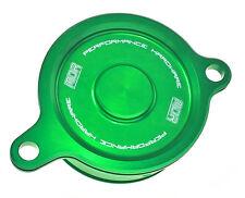 MDR Bling Oil Filter Cover Kawasaki KXF 450 06-ON Green MDOFC-09310N