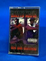 Ghetto Mafia - On Da Grind | Cassette Tape Album 1998 Hip Hop Gangsta Rap RARE