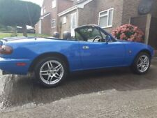 MX-5 WolfRace One Piece Rim Wheels with Tyres