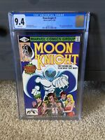 Moon Knight #1 CGC 9.4 HOT Book!!