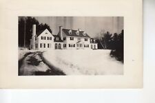 Real Photo Postcard former Home of John C Winant in Winter Concord NH