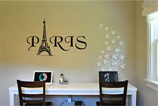 Paris Eiffel Tower Wall Sticker Wall Art Decor Vinyl Decal Stickers Wall Quotes