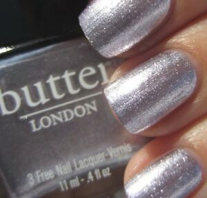 Butter London - Lillibet's Jubilee Lavender Silver Foil Nail Lacquer Polish 11ml
