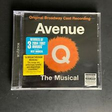 Avenue Q The Musical Original Broadway Cast Recording Victor CD NEW SEALED!