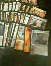 Lord of the Rings TCG Lot of 63 misc. card lot