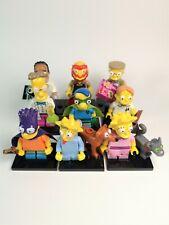 Lego The Simpsons Series 2 Partial Set 9 Mini-figures