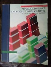 Managerial Economics: Applications, Strategy and Tactics 12th SNHU 9781285104669