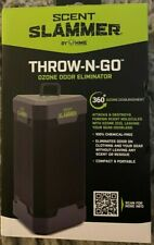 Hme Scent Slammer Throw-N-Go Ozone Odor Eliminator- Air Purifier