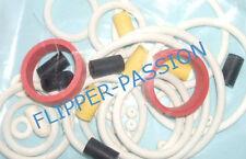 Kit caoutchoucs flipper  Bally JOHNNY NMNEMONIC  1995 elastiques blancs pinball