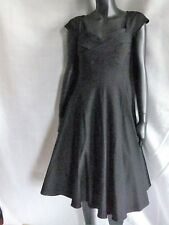 Stop Staring Black Size M Madstyle Swing Dress Vintage 50's Classy Party