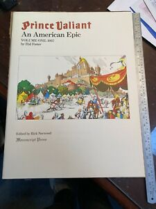 Hal Foster Prince Valiant An American Epic Volume 1 1937 LTD 1113/1500 NM