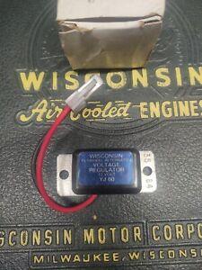 Wisconsin YJ60 Voltage Regulator  NOS OEM