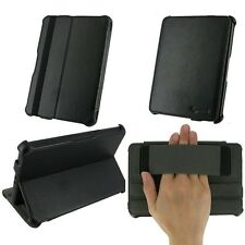 "rooCASE for Amazon Kindle Fire 7"" - Slim-Fit Vegan Leather Folio Black Lot C1"