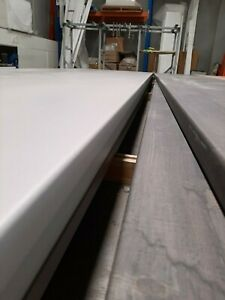 laminate benchtops 39mm 4.2m  cheap kitchen laundry vanity study white snow