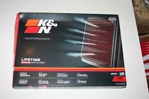 K&N Filters 33-2462 Fits 2011-2019 Dodge/Chrysler/Lancia/Ram/Volkswagen