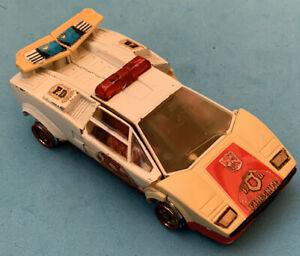 -- G1 Transformers - Red Alert Vehicle Figure - Junker - Autobot Hasbro 1985 --