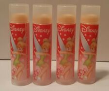 Lot of 4 Avon Disney TinkerBell Lip Balm Chapstick Strawberry New NOS