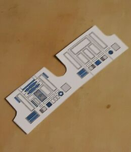 Replacement Sticker/ Label For 1977 Kenner R2D2 1st 12 Figure! Make R2 Look New!