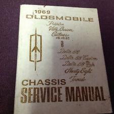 1969 Oldsmobile Olds Cutlass 88 98 Toronado 442 Service Shop Repair Manual OEM