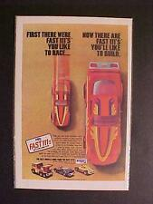 OLD ~1981 RACE CARS TRUCK MPC PLASTIC MODEL CAR KITS TOY ART PRINT AD~ VINTAGE