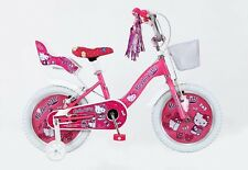 "16 Zoll 16"" Hello Kitty Kinder Mädchen Rad Kinderfahrrad Fahrrad Mädchenfahrrad"
