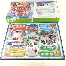 Family DVD Board Game Rudolph The Red Nosed Reindeer 2-4 players Christmas Kids