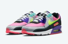 New listing Nike Air Max 90 SE Exeter Edition Neon DJ5917 Red Volt Black Grind Men's 9.5 NEW