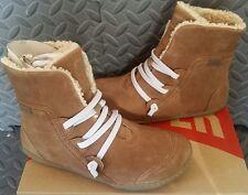 NEW Camper Peu Cami Women Boots Shearling Faux Fur Sherpa Fleece Lined Size 6/36