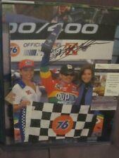 Jeff Gordon Autographed 9x12 Picture JSA COA NASCAR Auto Racing Champion