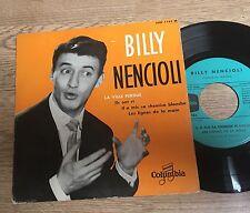 EP 45 trs Billy Nencioli La ville perdue Ils ont ri Il a mis sa chemise blanche