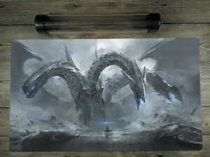 YuGiOh Cyber End Dragon Trading Card Game Duel Mat CCG Playmat Free Best Tube