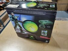 Microsoft XBOX Halo Special Edition Green Console System Bundle CIB Box Limited