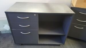 Wood Office Cabinets. 45x90x67high