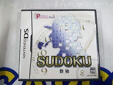 NDS GAME SUDOKU (ORIGINAL USED)