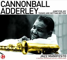 """Cannonball Adderly """"Jazz Manifesto"""" 2CD Set NEW & SEALED 1st Class Post From UK"""