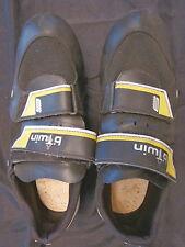 Scarpe ciclismo scarpini bici bicicletta shoes 41 bTwin sport yellow black 08 T