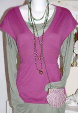 Noa Noa Empire Pullunder Pullover Cotton Cashmere  Tartan size: L  Neu