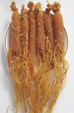 Organic Natural Tonic 8 Years Dry Red Radix Panax Ginseng Whole Roots 8.8 Oz
