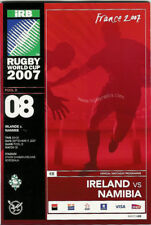 IRELAND v NAMIBIA RUGBY WORLD CUP 2007 PROGRAMME
