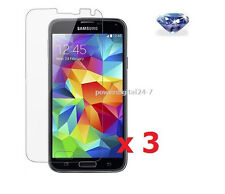 3 x Diamond Sparkle Glitter Screen Protector for Samsung Galaxy S5 i9600